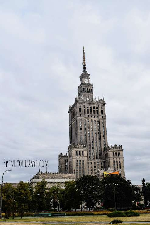 palace of culture and science warsaw poland stalinist