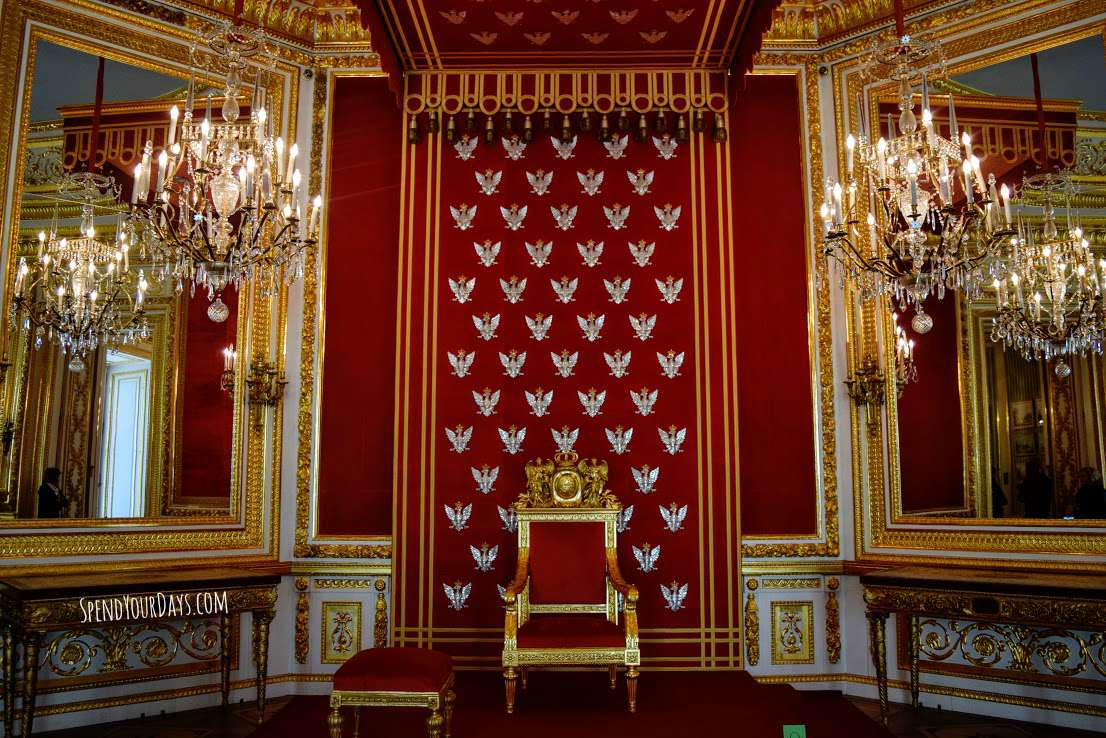 throne room royal castle warsaw poland