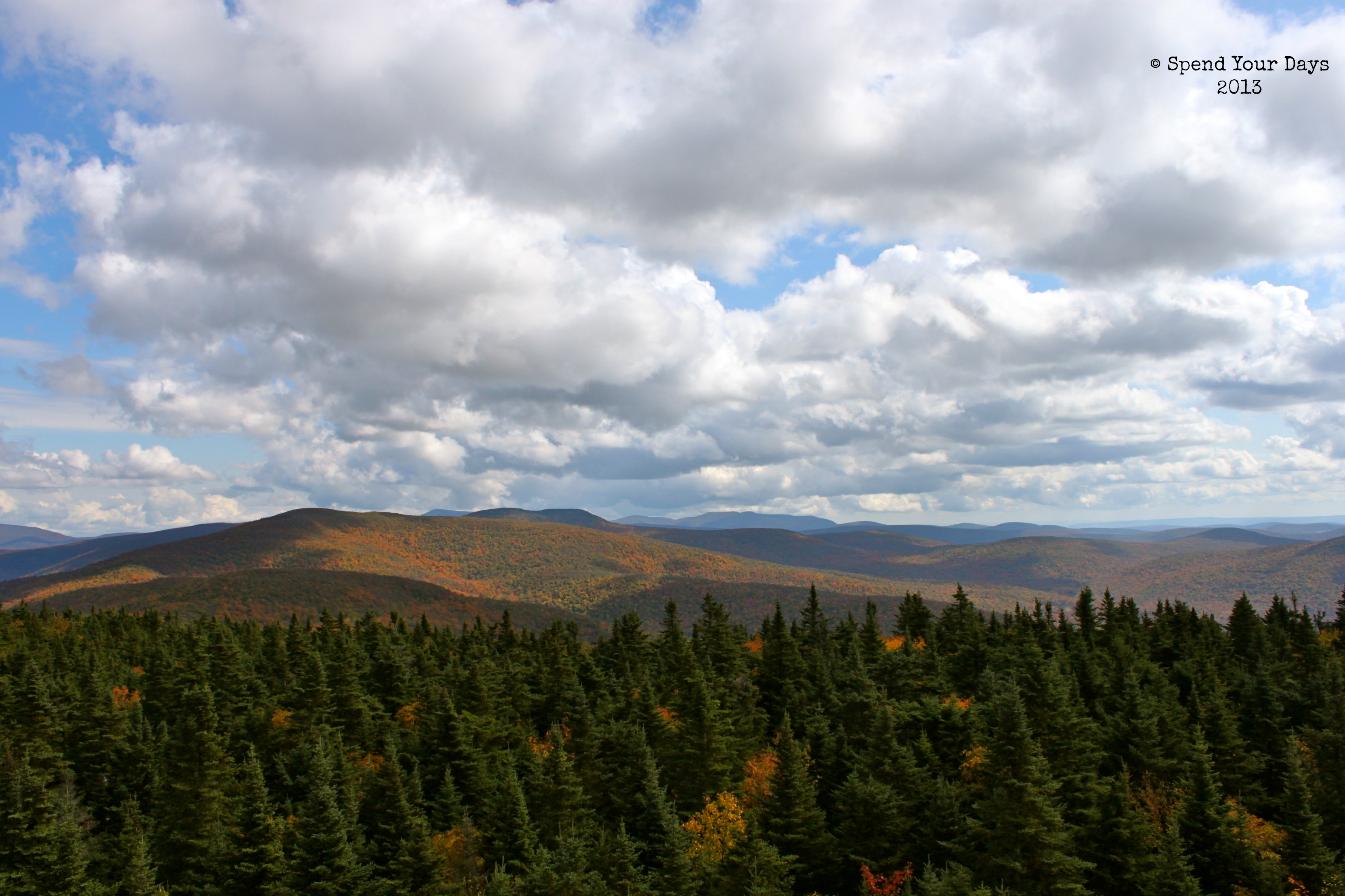 A Different Point Of View In The Catskills